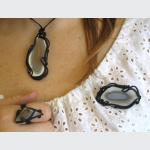 Šperky a bižuterie: Brož - achát
