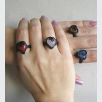 Prsten - srdíčko(0)