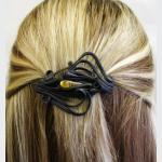 Šperky a bižuterie: Spona do vlasů 6 cm - kapka