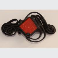 Spona do vlasů 6 cm se skleněnou mozaikou(0)